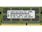 4GB PC3-10600 1333MHz MEMORY FOR HP ELITEBOOK 8540P