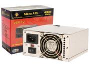 New Athena Power AP-MP4ATX40 400W 20+4 pin SFX mATX PSU with PCIe/SATA