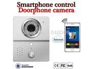 2015New Hot Wifi Doorbell Camera Wireless  Intercom Mobile Smart Phone Control IP Door Phone Wireless Door Peephole Viewer Phone Video
