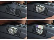 Car Net Bag Car Organizer Nets 15X8cm Automotive Pockets With Adhesive Visor Car Bag Storage for tools Mobile phone