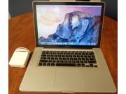 "Apple MacBook Pro 15.4"" Core i7 2.2GHz 8GB RAM 