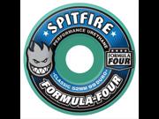 SPITFIRE Formula Four Skateboard Wheels Classic Shape 52mm 99 duro - MINT