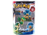 Pokemon Series 1 Snivy vs Panpour Action Figure 2-Pack