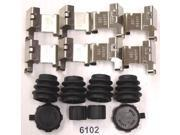 Better Brake Parts HW7104 Disc Brake Hardware Kit