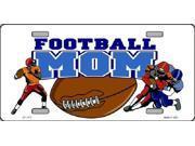 Football Mom Aluminum License Plate - SB-LP1171