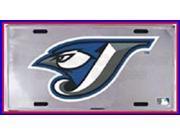 Toronto Blue Jays MLB Embossed Chrome Aluminum License Plate - SB-LP1271