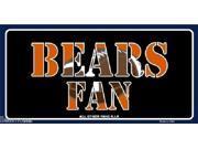 Chicago Bears Fan NFL Aluminum License Plate - SB-LP1983