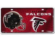 Atlanta Falcons NFL Aluminum License Plate - SB-LP727