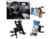 360° Rotating In Car Vehicle Air Vent Mount Cradle Holder Stand for HTC One M9