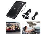 Wireless Multipoint Speakerphone Bluetooth HandsFree Car Speaker W SunVisor Clip