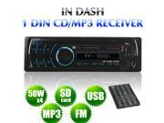 Single Din Car Video Audio Radio WMA DVD VCD CD MP4 MP3 PLAYER RemovablePANEL AM FM