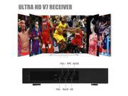 TV Set-Top Boxes Ultra HD V7 Receiver JB200 HDMI with WIFI USB Dongle (most stable VS V3 V4 V5) NEW