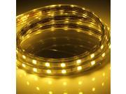1M 5050 60 SMD Waterproof Flexible LED Decorative Light Strip Lamp For Party Wedding Hallways Stairs Trails Windows Romantic Decoration 110V