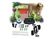 NEW 1 dog Waterproof In-Ground Underground Shock Collar Dog Training Pet Electric Fence System Training