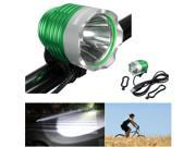 CREE XM-L T6 LED Headlight Headlamp Bicycle Bike Front Head Light Rechargable