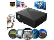 1000 lumens Home Cinema Theater LED LCD Projector 1080P HD HDMI AV USB VGA SD