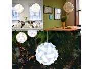 Contemporary Ceiling Pendant Modern IQ Jigsaw Bedroom Hanging Lamp Light Shade Home Decor