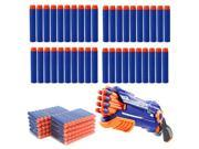 300pcs 7.2cm Kids Refill Toy Gun Bullet Darts Round Head Blasters For NERF N-Strike Age 6+ Blue