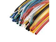 55pcs Assortment Ratio 2:1 Polyolefin Heat Shrink Tubing Tube Sleeving Wire Wrap