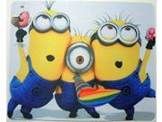 Despicable Me mouse pad - 3 Minions Partying