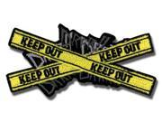 Patch - Durarara - New Keep Out Logo Anime Iron-On Gifts Toys Licensed ge2145