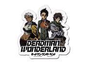 Sticker - Deadman Wonderland - Ganta, Nagi & Karako New Anime ge55104