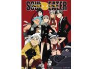 Fabric Poster - Soul Eater - New Group Intense Stare Wall Scroll New ge77574