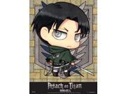 Wall Scroll - Attack on Titan - SD Chibi Levi New Fabric Poster Anime ge60569