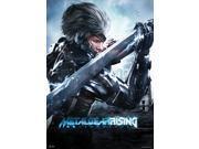 Wall Scroll - Metal Gear Solid Rising Revengeance - New Raiden Anime ge60045