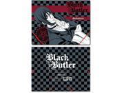 File Folder - Black Butler - New Sebastian Gray Elastic Band Document ge26070