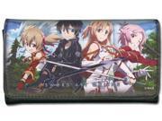 Wallet - Sword Art Online - New Silica Kirito Asuna Lisbeth Forest ge61117