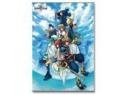 Wall Scroll - Kingdom Hearts - II Cover Art Gifts Toys New