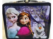 Lunch Box - Disney - Frozen Elsa, Anna, And Olaf New Licensed Gifts wdlb0134