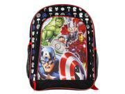 """Backpack - Marvel - Avengers 16"""" Group Team New School Bag 136200"""