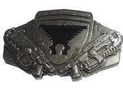 Belt Buckle - Gear Of War - New METAL Lancer Rifles Gun Metal bb147157gow