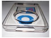 Clear Case Skin Cover Hard Shell Shield For iPod Classic 80GB 120GB 160GB with screen protector