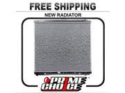 Prime Choice Auto Parts RK1122 Complete Aluminum Radiator