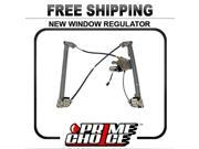 Prime Choice Auto Parts WR841433 Front Passengers Side Power Window Regulator With Motor