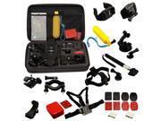 VANTRUE 30 All-in-1 Professional Sports Accessories Kit Bundle Bag for Gopro HD Hero 4/ 3+/ 3/ 2/ 1, SJCAM SJ4000 SJ5000 SJ6000 Sport Camera