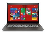 HP ENVY 17t-touch 5th Gen Intel Core i7-5500 Processor Nvidia Geforce GTX 950M 4GB Discrete Graphics 4TB 5400 rpm 17.3 inch screen 1920x1080 Windows 8.1 Pro 64