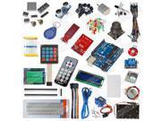 Starter Kit Compatible Uno R3 Stepper Motor 1602 LCD Breadboard LED Resistor for Arduino