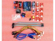 Starter Kit Funduino UNO R3 + HC-SR04 Ultrasonic + LED + Servo Motor for Arduino