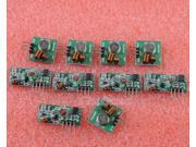 5pcs 315Mhz RF transmitter and receiver RF link kit for Arduino Mega ARM MCU WL