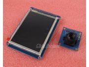 """3.2"""" TFT LCD disp touch panel PCB adapter + CMOS Camera Module OV7670 SCCB 3.6µm"""