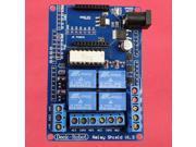 Relay Shield V1.3 5V 4 Channel Relay Shield for Arduino
