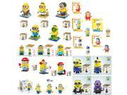 Loz QCF Dr Star Bonnie 21-Set Minion V.1 6150 pcs Building Diamond Blocks