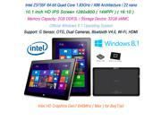 "New Onda Tablet PC 10.1"" 1280x800 HD IPS Screen Intel 64bit Quad Core 1.83GHz Official Windows 8.1 RAM2GB/ROM32GB Wi-Fi HDMI"