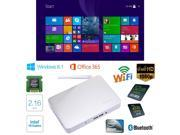 PiPo X7 Mini PC Box Intel Quad Core 2.16GHz Official Windows 8.1 RAM:2GB/ROM:32GB Silver