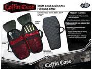 Rock Band Coffin Case Branded Drum & Stick Bag