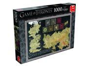 Game of Thrones Map of The Known World Jigsaw Puzzle 1000pcs Puzzle